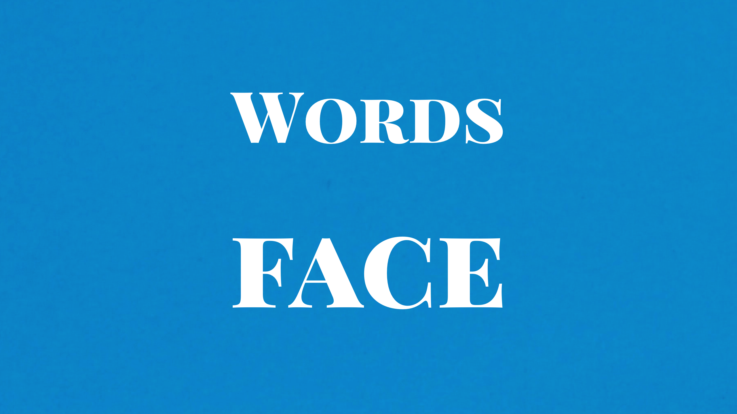 Words Face 難易度☆