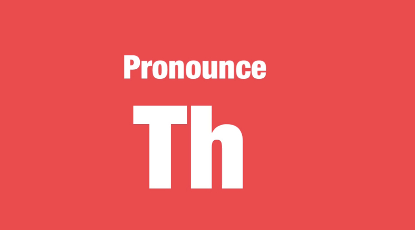 Pronounce-Th 難易度☆☆☆