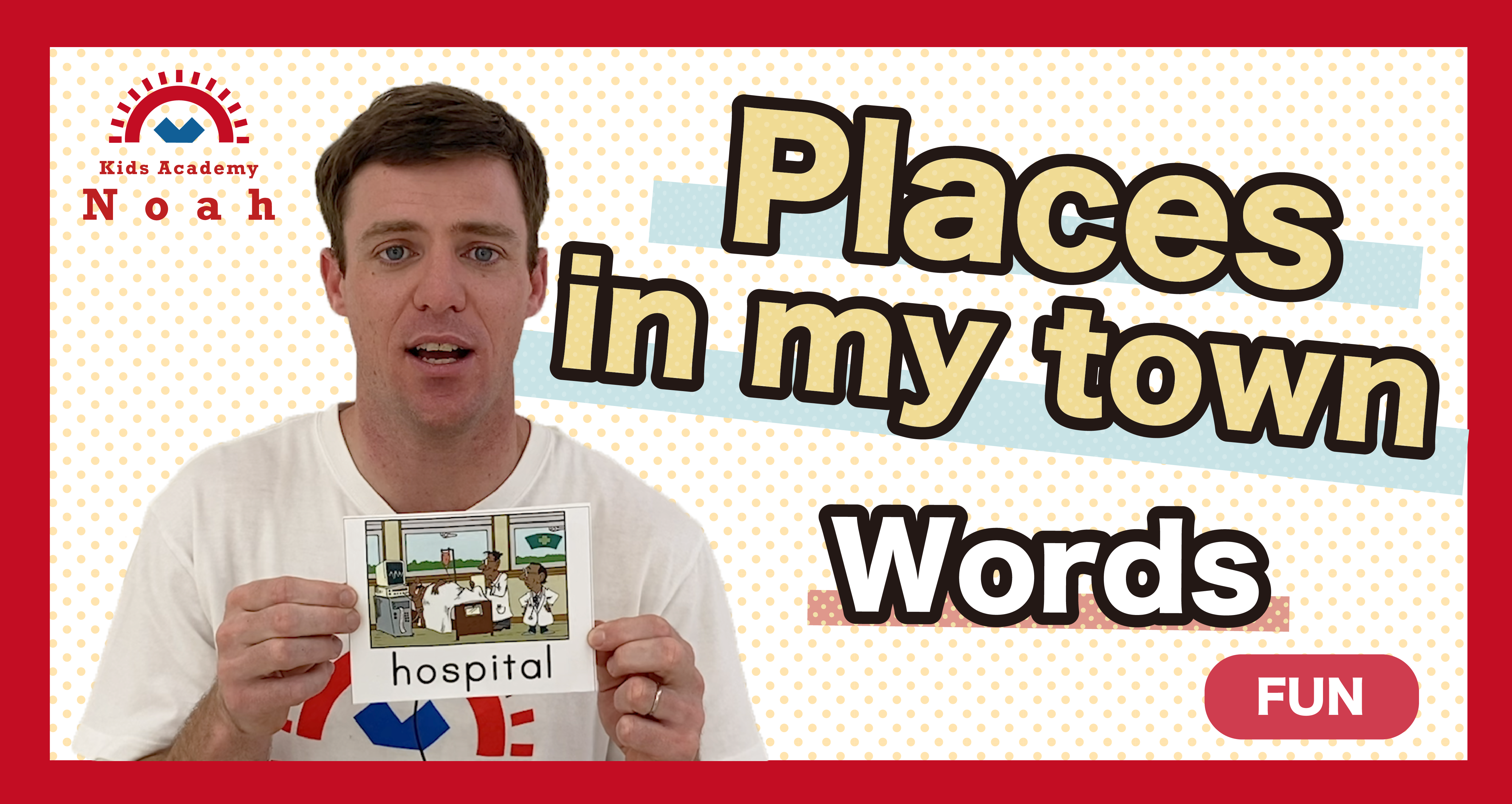 """Word """"Places in my town""""-FUN-"""