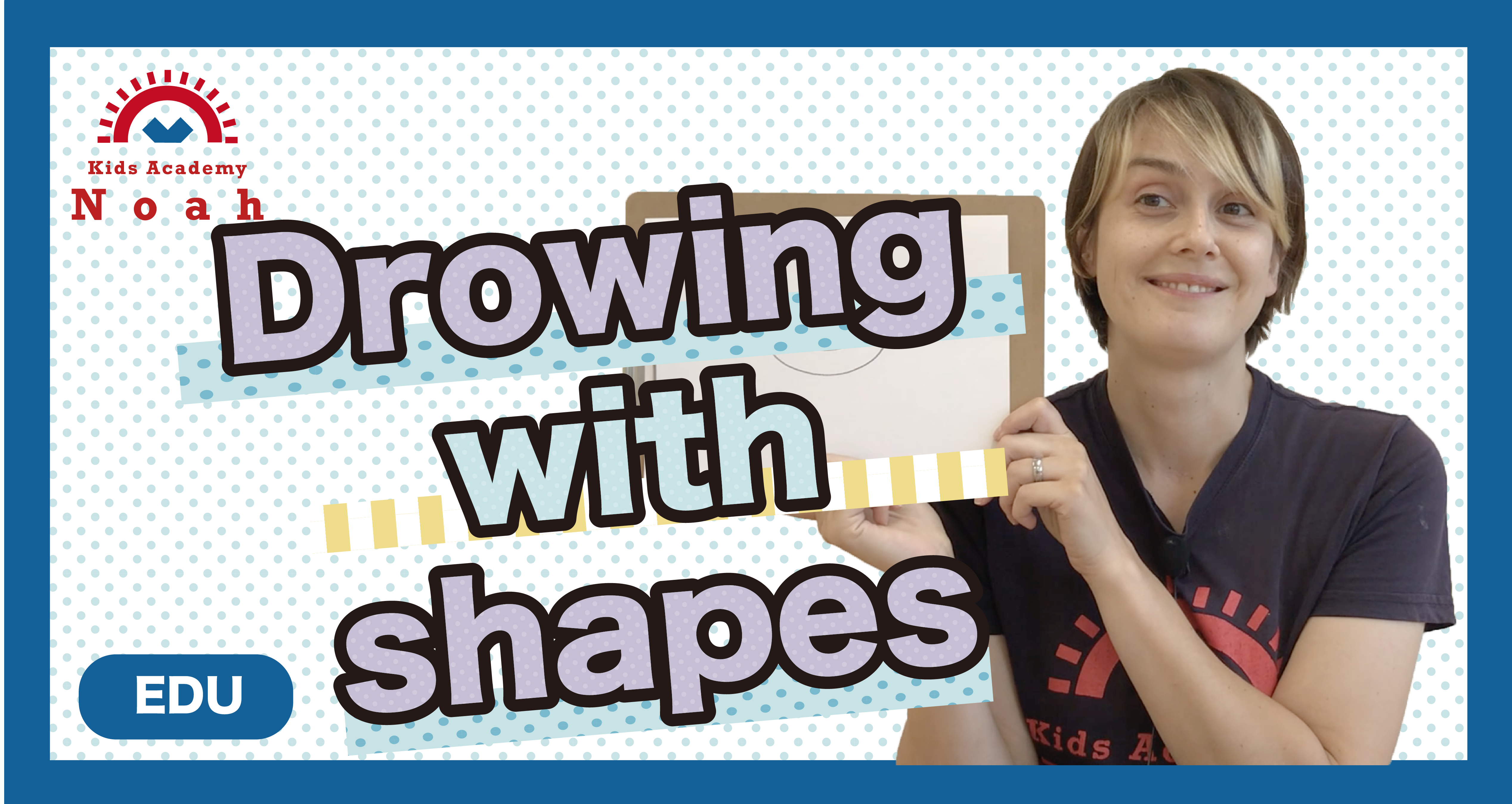 Drowing with shapes-EDU-